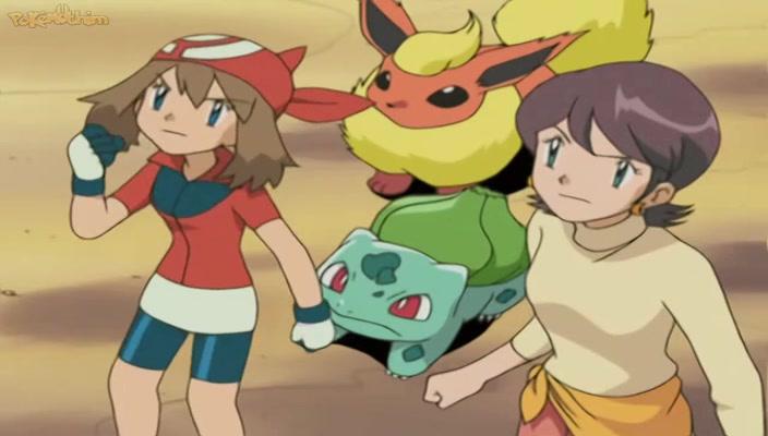 Pokemon Dublado Episódio - 353Uma Fã Com um Plano