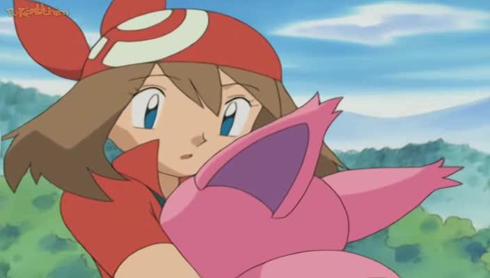 Pokemon Dublado Episódio - 355Pérolas São as Melhores Amigas de um Spoink
