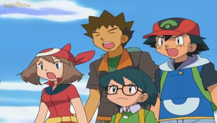 Pokemon Dublado Episódio - 373Ganhando Groudon