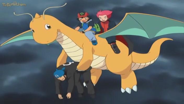 Pokemon Dublado Episódio - 374A Luta das Lendas