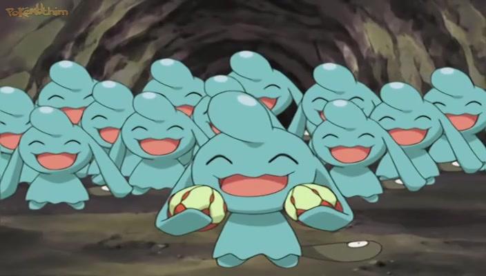 Pokemon Dublado Episódio - 390Quem, o Que, Quando, Onde, Wynaut?