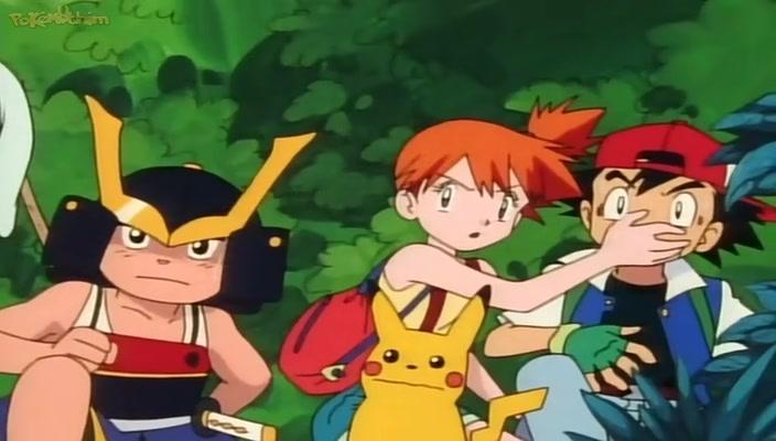 Pokemon Dublado Episódio - 4O Desafio do Samurai!