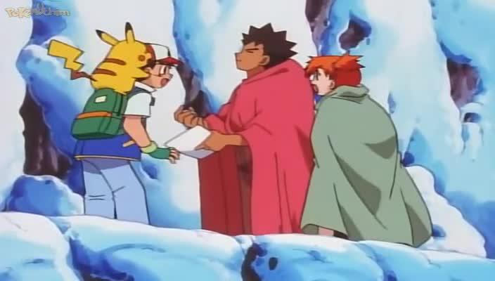 Pokemon Dublado Episódio - 40Perdidos na Neve!