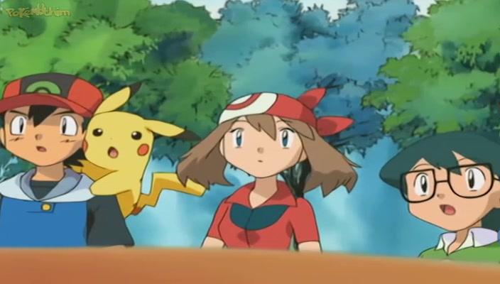 Pokemon Dublado Episódio - 416Acima das Nuvens Arcanine