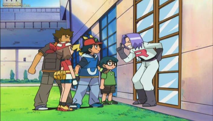 Pokemon Dublado Episódio - 424O Pequeno James