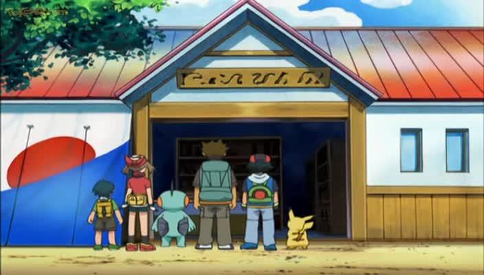 Pokemon Dublado Episódio - 425Uma Lasca do Velho Brock