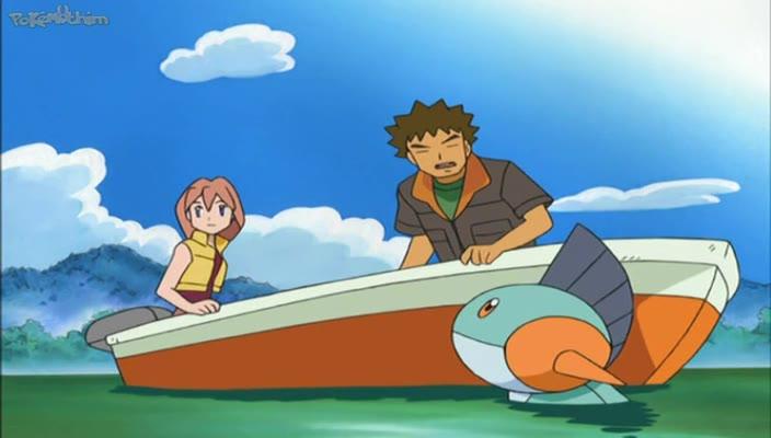 Pokemon Dublado Episódio - 429Em Cima da Velha Lagoa