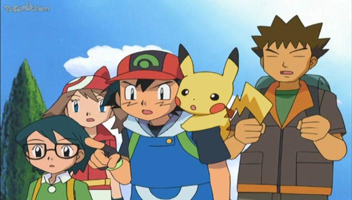 Pokemon Dublado Episódio - 443Guiando a Maré Vermelha!