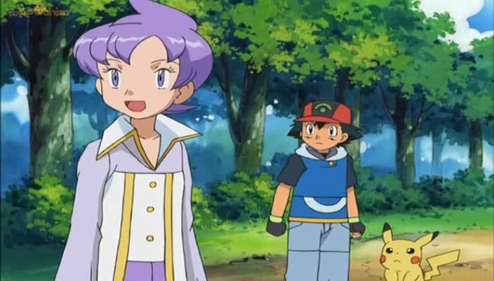 Pokemon Dublado Episódio - 446Falando Sobre um Bom Jogo!