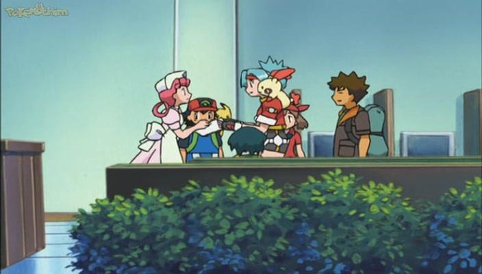 Pokemon Dublado Episódio - 448Guarda Pokémon – A Crise do Deoxys!Parte I