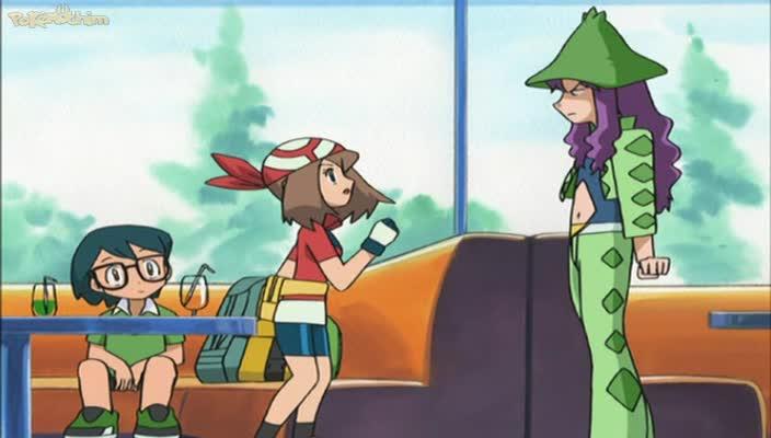Pokemon Dublado Episódio - 451Nova Trama, Sorte Estranha!