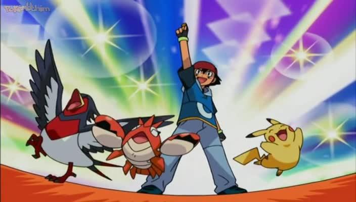 Pokemon Dublado Episódio - 453O Grande Assalto!