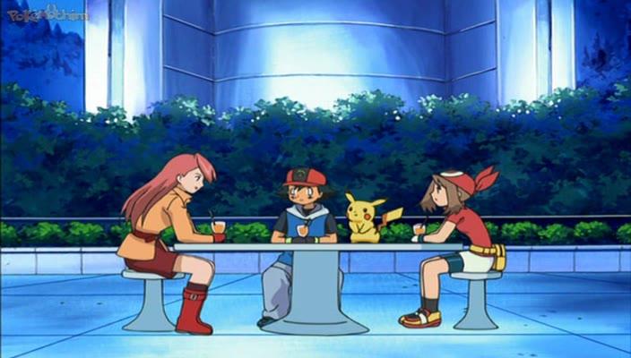 Pokemon Dublado Episódio - 457May, Nós Estamos Torcendo Por Você!