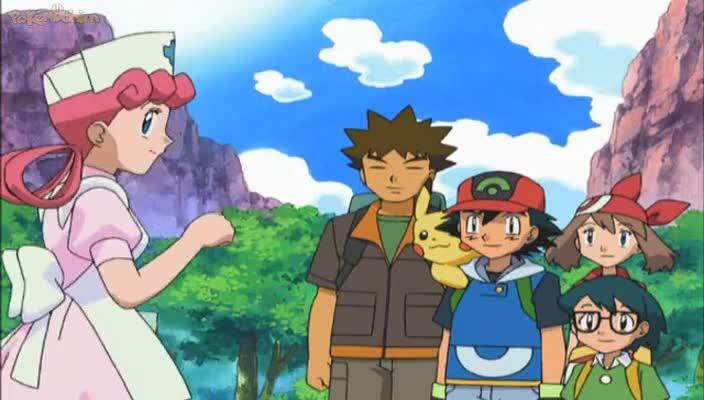 Pokemon Dublado Episódio - 463Cheio de Alegria!