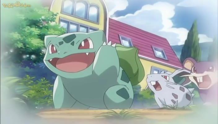 Pokemon Dublado Episódio - 466Reunindo a Gangue dos Quatro!