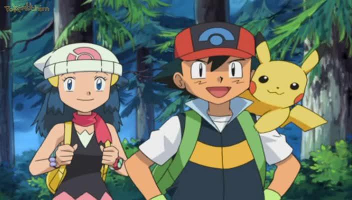 Pokemon Dublado Episódio - 482Nasce um Staravia!