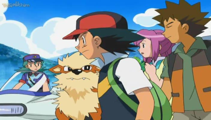 Pokemon Dublado Episódio - 489Caçadora de Encrencas!