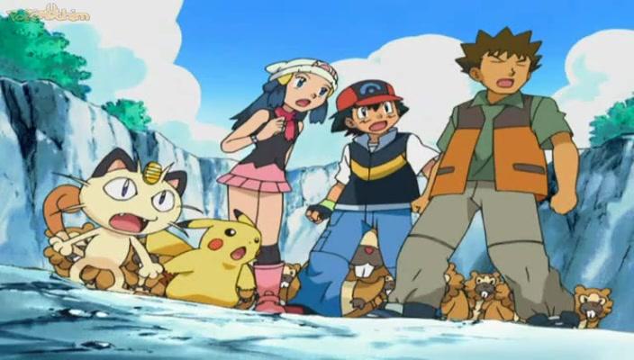 Pokemon Dublado Episódio - 492Enfrentando o Cabeça Dura do Steelix!