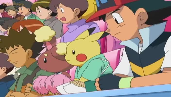Pokemon Dublado Episódio - 496Definindo um Placar de Velhos Amigos!