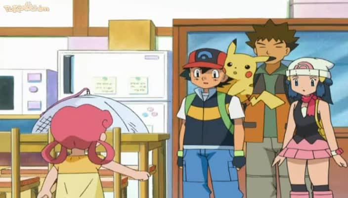 Pokemon Dublado Episódio - 497Drifloon ao Vento!
