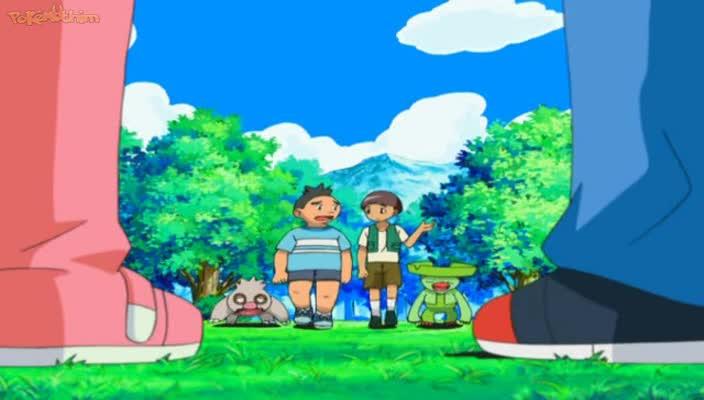 Pokemon Dublado Episódio - 498Os Gêmeos Campeões!