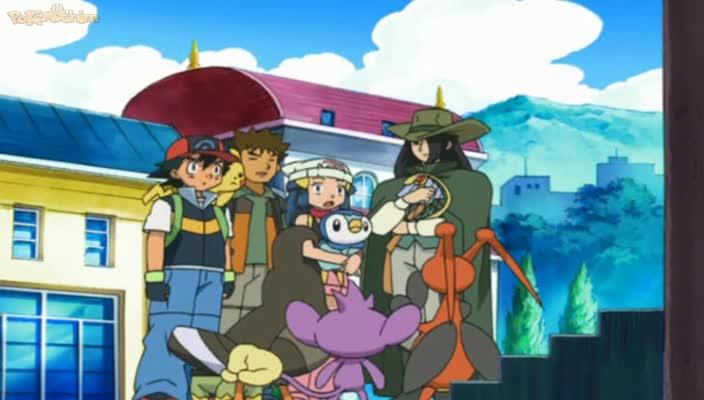 Pokemon Dublado Episódio - 518Um Dia Ruim Para Dawn!