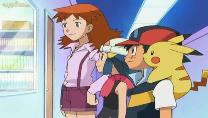 Pokemon Dublado Episódio - 520A Chama da Glória!