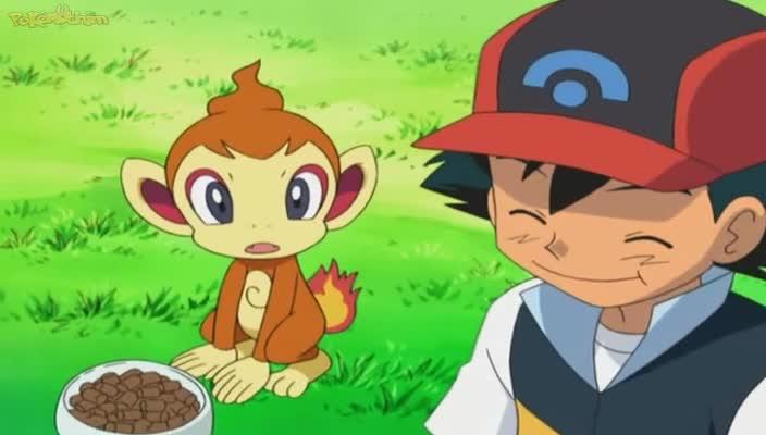 Pokemon Dublado Episódio - 522Lagrimas de Chimchar!