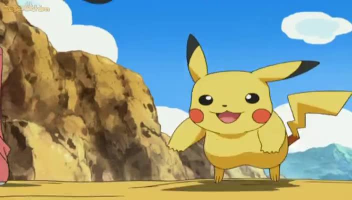 Pokemon Dublado Episódio - 527Evolução Debaixo do Nariz!
