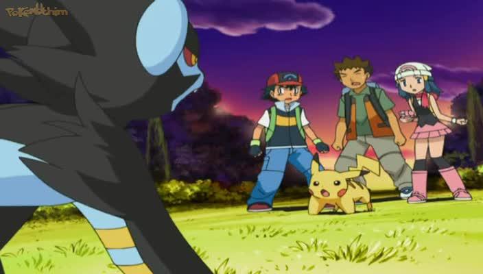 Pokemon Dublado Episódio - 528A Visão de Luxray!