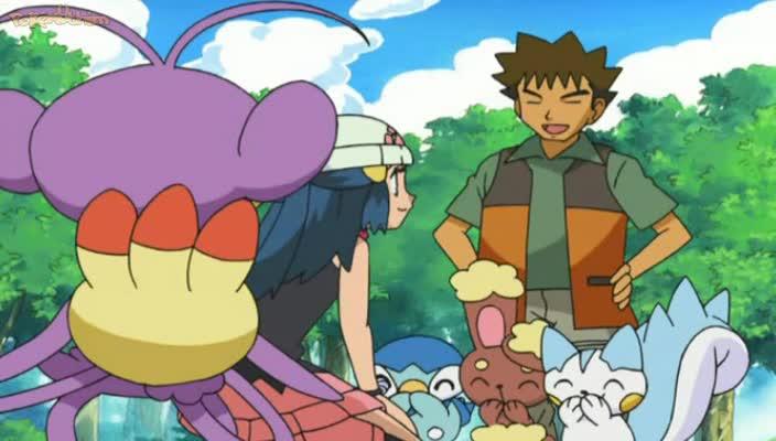 Pokemon Dublado Episódio - 530Choque de Rivais!