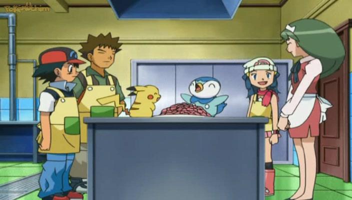 Pokemon Dublado Episódio - 553Famintos Por Uma Vida Boa!