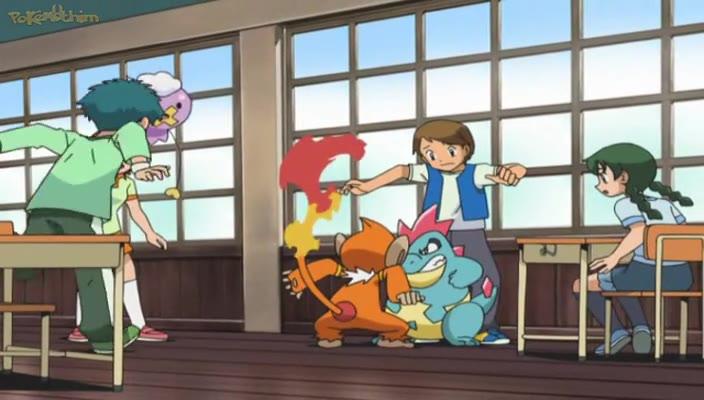 Pokemon Dublado Episódio - 557O Acampamento de Verão!