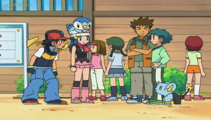 Pokemon Dublado Episódio - 560Uma Equipe, Duas Equipes, Equipe Vermelha, Equipe Azul!