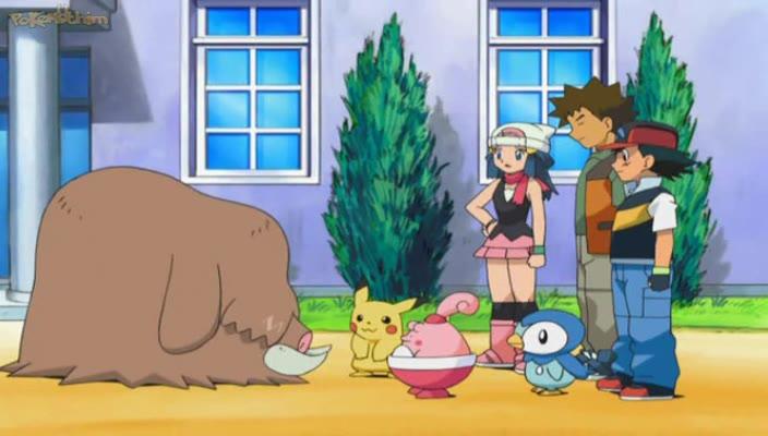 Pokemon Dublado Episódio - 575Uma Manada de Desobediência!