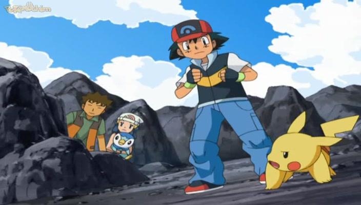 Pokemon Dublado Episódio - 579Problemaço Com o Pokémon de Aço!