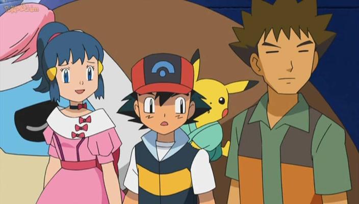 Pokemon Dublado Episódio - 592Antigos Rivais, Novos Truques!