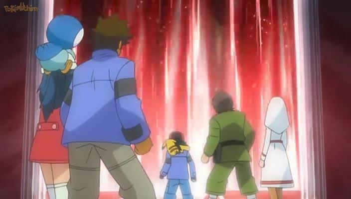 Pokemon Dublado Episódio - 598Pilares da Amizade!