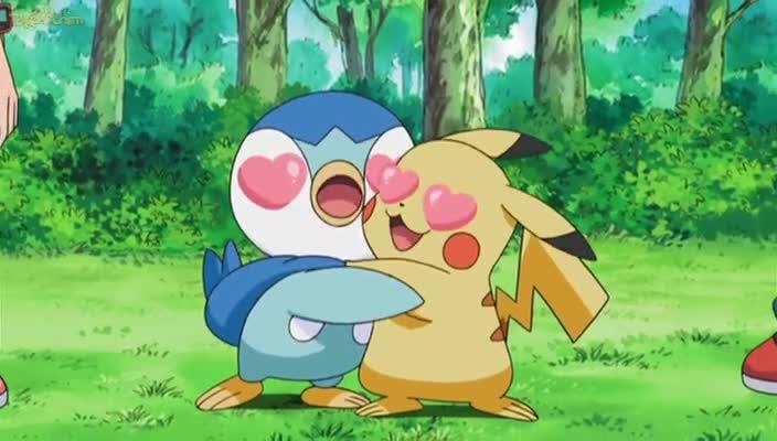 Pokemon Dublado Episódio - 618Grudado em Quem Você Conhece!