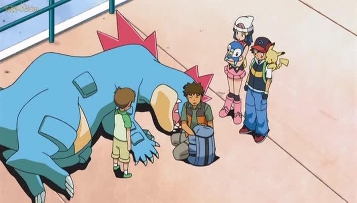 Pokemon Dublado Episódio - 627Ganhando Outra Vez a Vantagem em Casa!