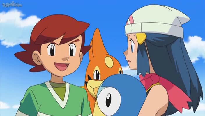 Pokemon Dublado Episódio - 649Quatro Estradas que Divergem em um Porto Pokémon!