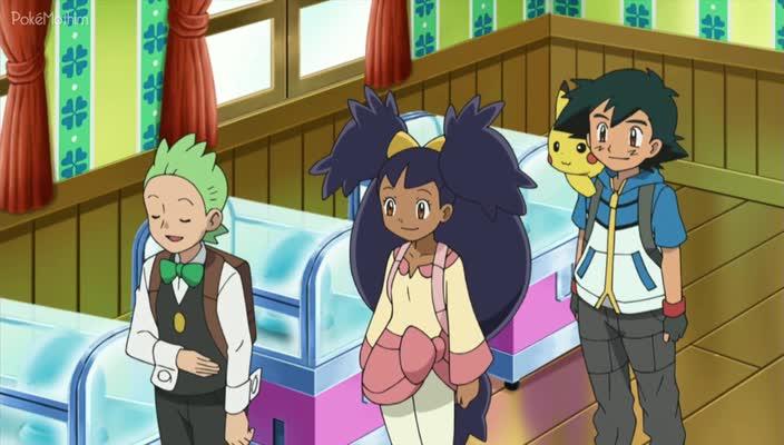 Pokemon Dublado Episódio - 672Aí Vem o Esquadrão Trubbish!