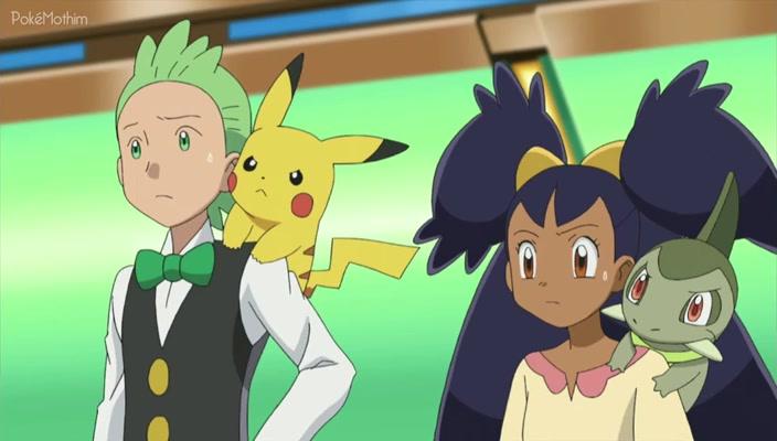 Pokemon Dublado Episódio - 676A Revanche no Ginásio de Nacrene!