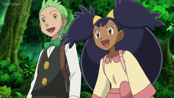 Pokemon Dublado Episódio - 678Sewaddle e Burgh na Floresta Pinwheel!