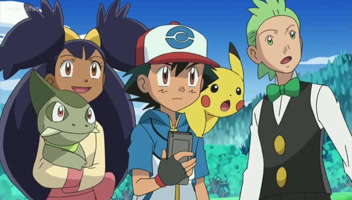 Pokemon Dublado Episódio - 690O Caminho de Uma Mestra de Dragões!
