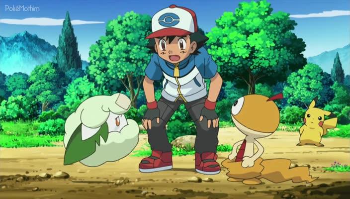 Pokemon Dublado Episódio - 692Um Cottonee Apaixonado!