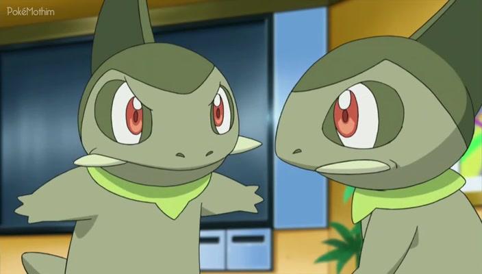 Pokemon Dublado Episódio - 702Cilan Versus Trip, Ash Versus Georgia!