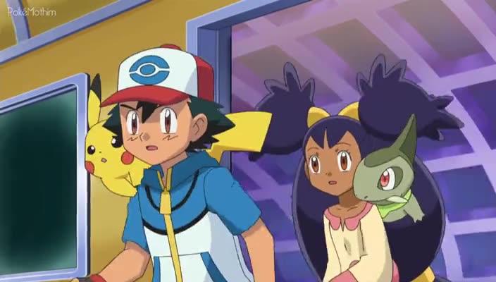 Pokemon Dublado Episódio - 713Perdidos no Rally dos Selos!