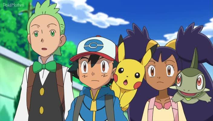 Pokemon Dublado Episódio - 714Ash Desafia o Campeão!