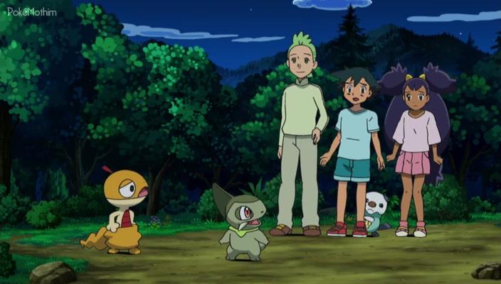 Pokemon Dublado Episódio - 717Scraggy e Uma Exigente Gothita!